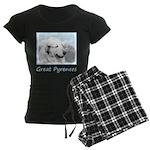 Great Pyrenees Women's Dark Pajamas