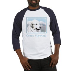 Great Pyrenees Baseball Tee
