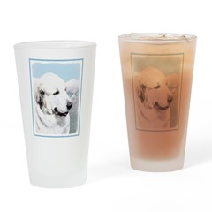 Great Pyrenees Drinking Glass