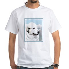 Great Pyrenees White T-Shirt