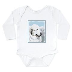 Great Pyrenees Long Sleeve Infant Bodysuit