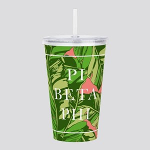 Pi Beta Phi Banana Lea Acrylic Double-wall Tumbler