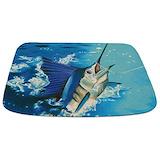 Fish Memory Foam Bathmats