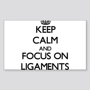 Keep Calm and focus on Ligaments Sticker