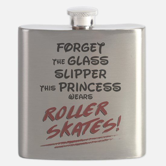 Roller Princess Flask