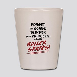 Roller Princess Shot Glass