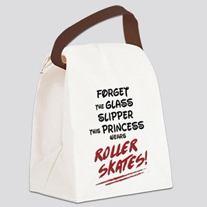 Roller Princess Canvas Lunch Bag