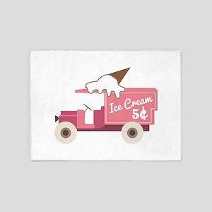 Ice Cream 5'x7'Area Rug