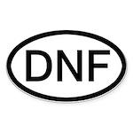 Dnf - Sticker (oval)