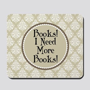 Book Quote Funny Reading Mousepad