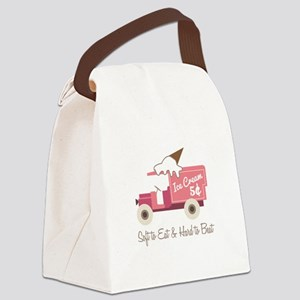 Hard To Beat Canvas Lunch Bag