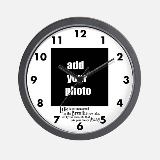 Life Is Measured Personalized Wall Clock