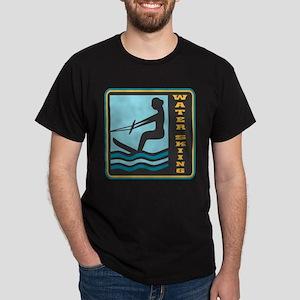 Waterskiing Logo Dark T-Shirt