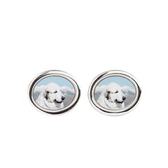 Great Pyrenees Oval Cufflinks