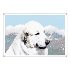 Great Pyrenees Banner