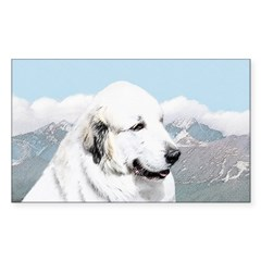 Great Pyrenees Sticker (Rectangle)