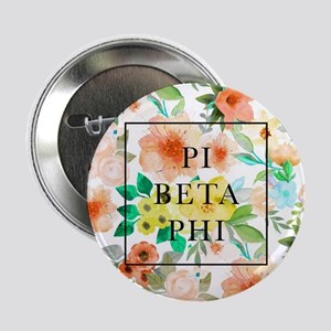 """Pi Beta Phi Floral 2.25"""" Button (10 pack)"""