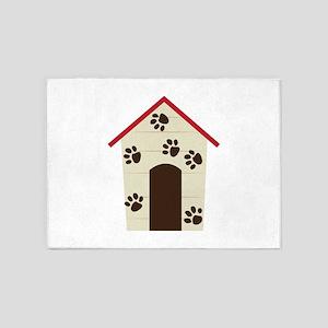 Doghouse 5'x7'Area Rug