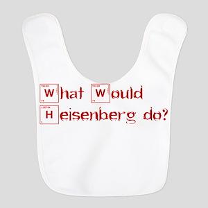 what would heisenberg do-heart-red Bib