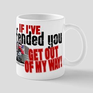 Trucker Offended Mugs