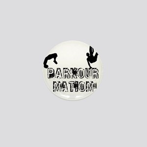 Parkour Nation Mini Button