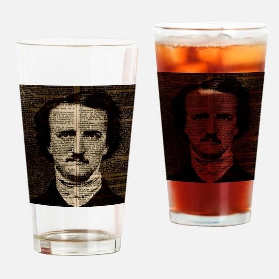 Unique Allan Drinking Glass