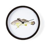 Blackspot Croaker Wall Clock