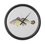 Blackspot Croaker Large Wall Clock