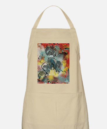 Abstract Iris Apron