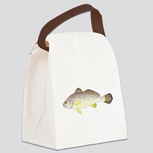 Blackspot Croaker Canvas Lunch Bag