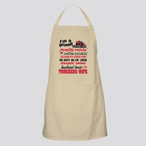 Husband Lovin' Truckers Wife Apron