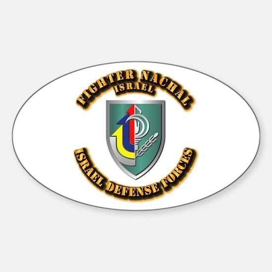 Fighter Nachal Sticker (Oval)