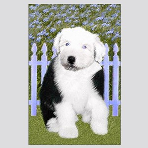 Old English Sheepdog Large Poster