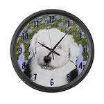 Old English Sheepdog Large Wall Clock