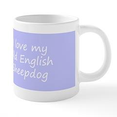 Old English Sheepdog 20 oz Ceramic Mega Mug