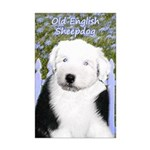Old English Sheepdog Mini Poster Print