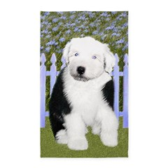 Old English Sheepdog Area Rug