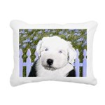 Old English Sheepdog Rectangular Canvas Pillow