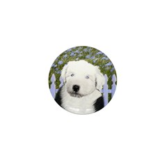 Old English Sheepdog Mini Button (100 pack)
