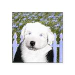 Old English Sheepdog Square Sticker 3