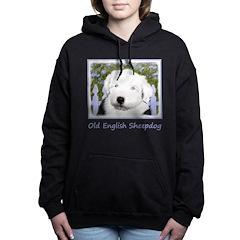Old English Sheepdog Women's Hooded Sweatshirt