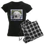Old English Sheepdog Women's Dark Pajamas