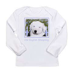 Old English Sheepdog Long Sleeve Infant T-Shirt