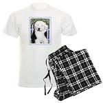 Old English Sheepdog Men's Light Pajamas