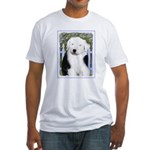 Old English Sheepdog Fitted T-Shirt