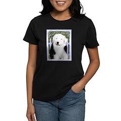 Old English Sheepdog Women's Dark T-Shirt