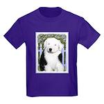 Old English Sheepdog Kids Dark T-Shirt