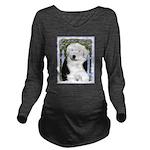 Old English Sheepdog Long Sleeve Maternity T-Shirt