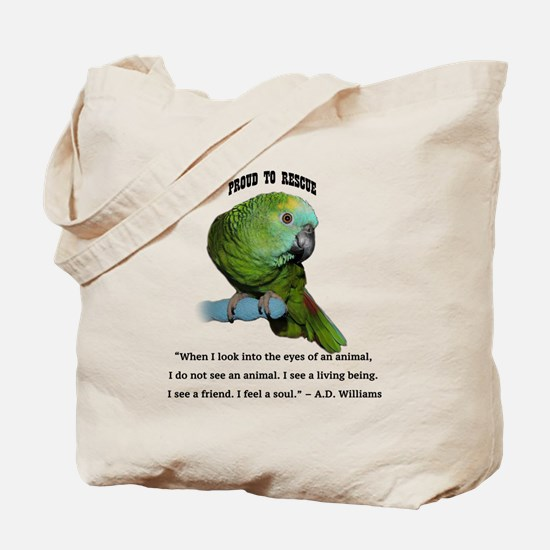 Unique Parrot Tote Bag