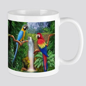 MACAW TROPICAL PARROTS Mugs